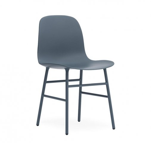 Form chair steel leg