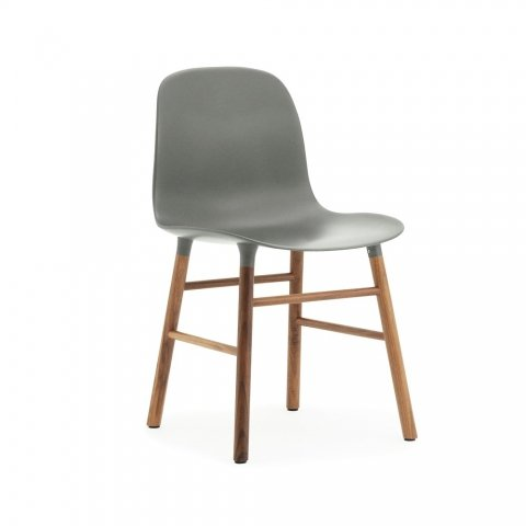 Form chair wood legs
