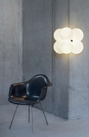 Molecular Light wandlamp